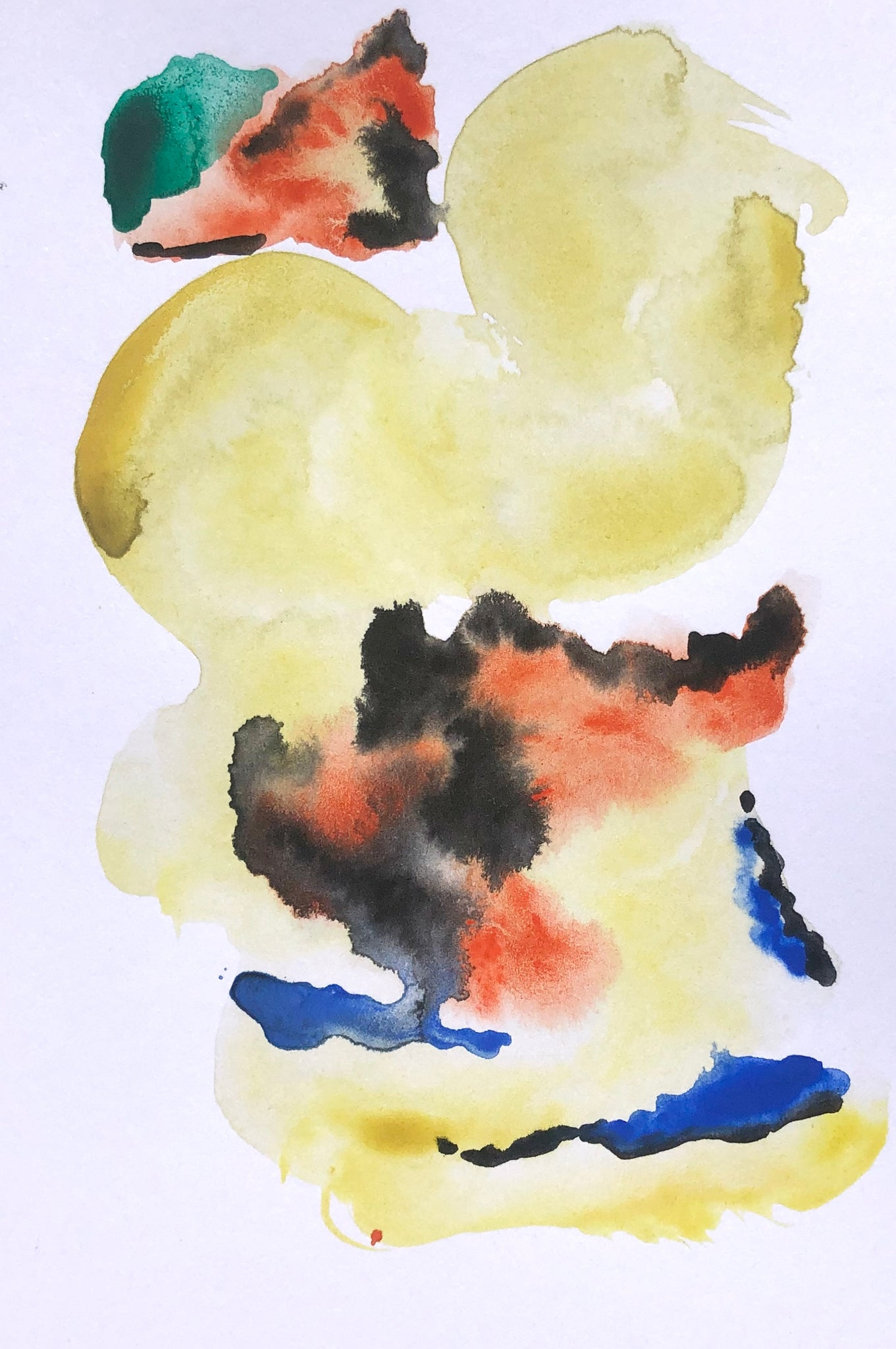 Yellow Clouds - Stephanie Fuller Artist