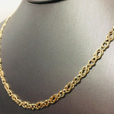 "9ct gold necklace/chain 18"" Pre owned"