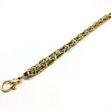 9ct Gold cage chain 8.5""