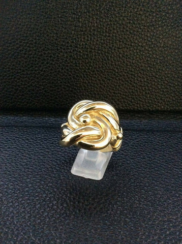 9ct Gold Knot Ring size X