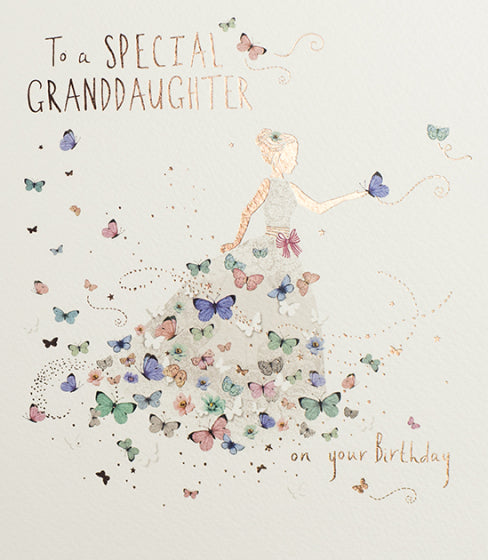 Granddaughter Birthday Card 1