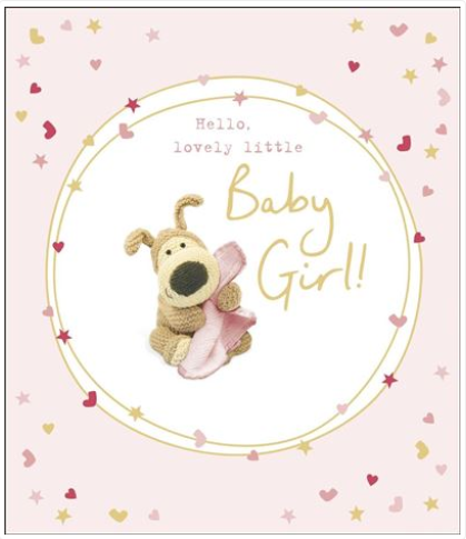 New Baby Girl Card 3