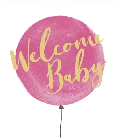 New Baby Girl Card 2