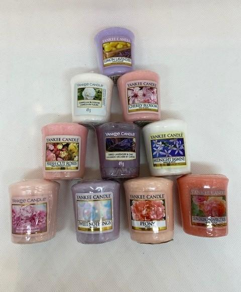 Yankee Candle Votive Bundle Offer Floral - lovearomameadowhall