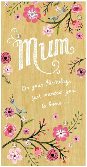 Mum Birthday Card 2