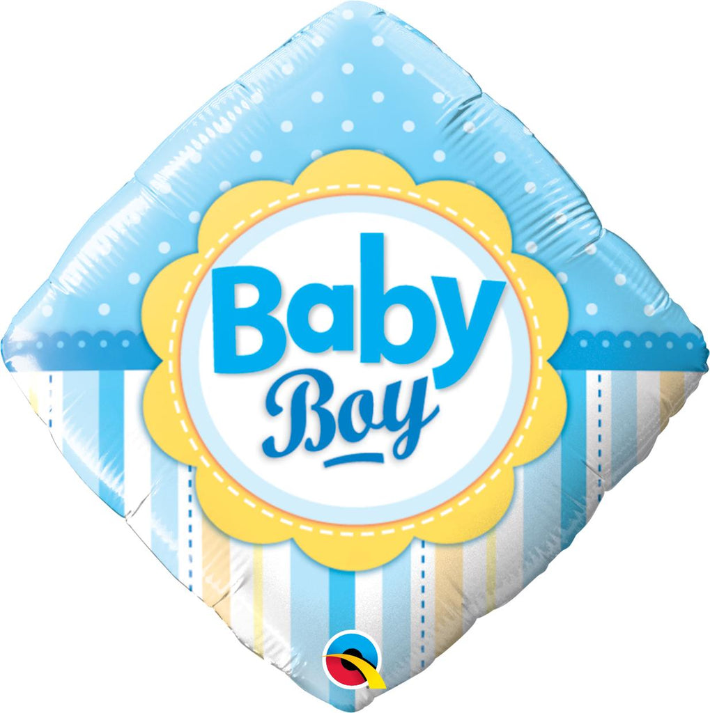 New Baby Boy Helium Birthday Balloon