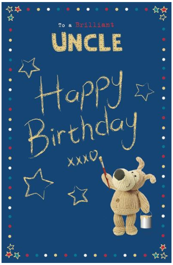 Uncle Birthday Card 1