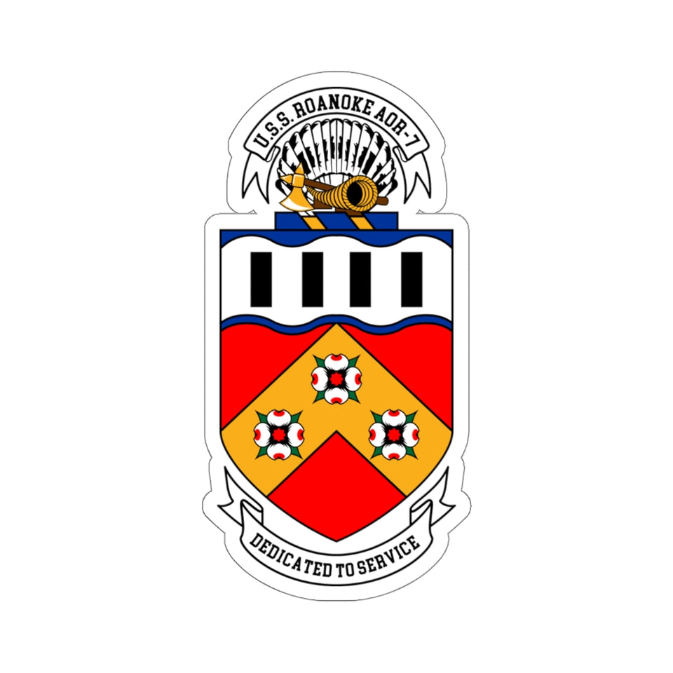 Roanoke Crest Sticker