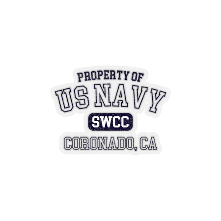 Property of US Navy SWCC Sticker