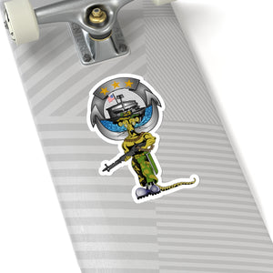 River Rat CC Pin Sticker (Color)