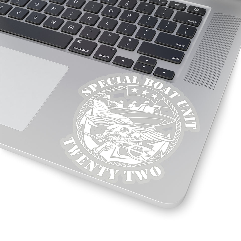 SBU 22 Sticker (White)