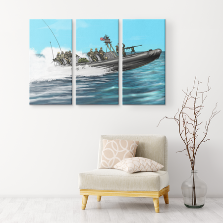 RHIB - EXCLUSIVE- 3 Panel Wall Art