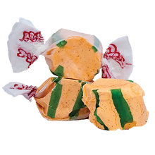 Load image into Gallery viewer, Chili mango salt water taffy 200g bag