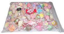 "Load image into Gallery viewer, Assorted salt water taffy ""Happy birthday"" 500g bag"