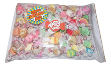 "Load image into Gallery viewer, Assorted salt water taffy ""Happy birthday dad"" 500g bag"
