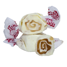 Load image into Gallery viewer, Caramel cheesecake salt water taffy 500g bag