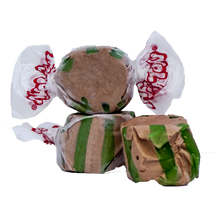 Load image into Gallery viewer, Chocolate mint salt water taffy 2.5lb bag