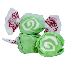 Load image into Gallery viewer, Key lime salt water taffy 200g bag