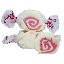 Load image into Gallery viewer, Strawberry cheesecake salt water taffy 200g bag
