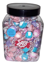 Load image into Gallery viewer, Assorted Berries & cream salt water taffy gift jar