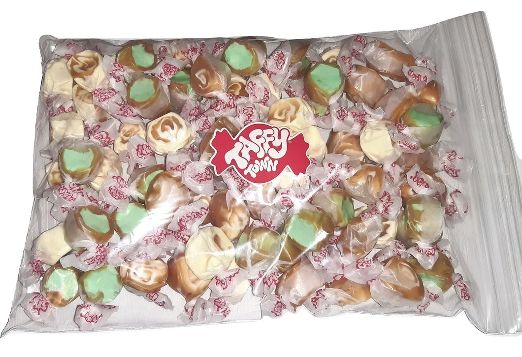 Assorted Caramel salt water taffy 500g bag