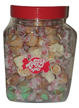 Load image into Gallery viewer, Assorted Caramel salt water taffy gift jar