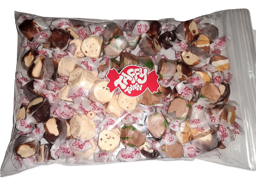 Assorted Chocolate salt water taffy 500g bag
