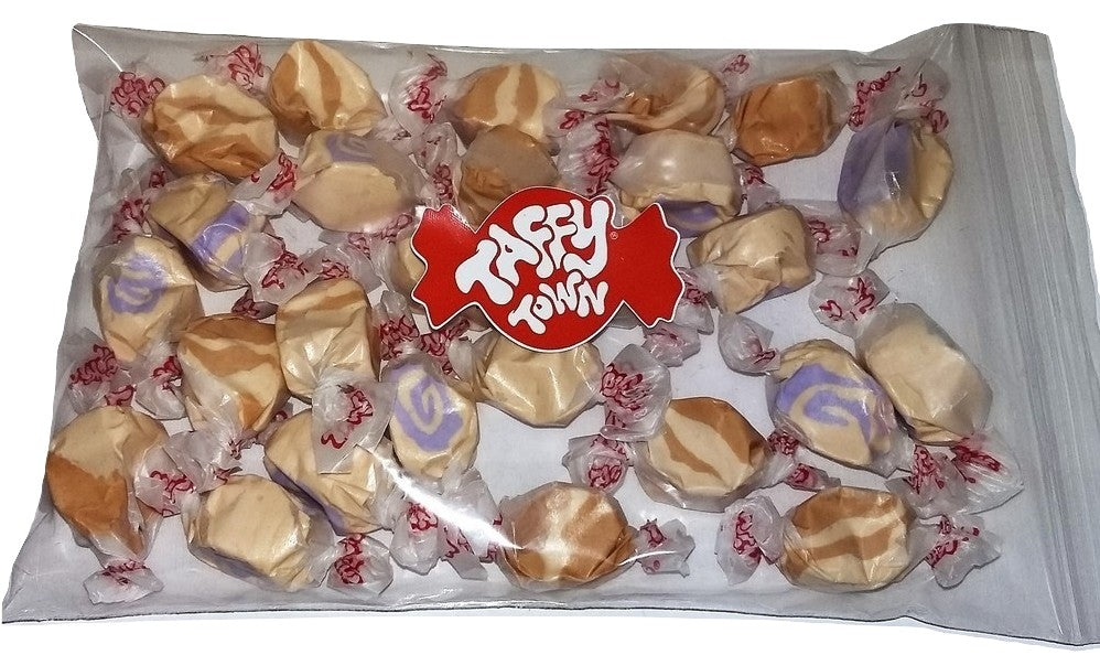 Assorted peanut butter salt water taffy 200g bag