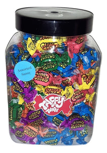 Assorted sassy salt water taffy jar