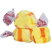 Load image into Gallery viewer, Banana salt water taffy 500g bag