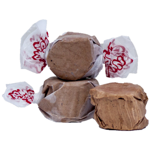 Assorted Chocolate & Orange salt water taffy 500g bag