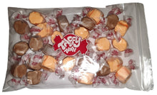 Load image into Gallery viewer, Chocolate & Orange salt water taffy 200g bag