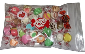"Assorted salt water taffy ""Your one in a million"" 200g bag"