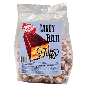 Candy bar salt water taffy Retro bag (397g)