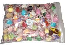 "Load image into Gallery viewer, Assorted salt water taffy ""Thinking of you"" 500g bag"