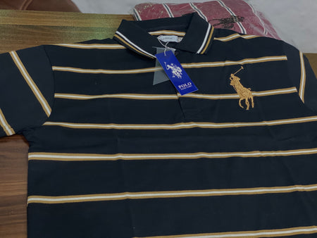 RLN Polo Villae Coffee Black Srtiper