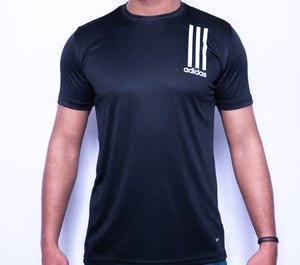 ADS Striper Solid Dry Fit T-Shirt