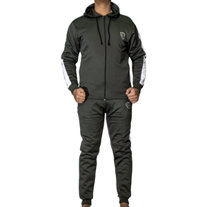 Daniel Panel Tracksuit Olive - Hoodie Style