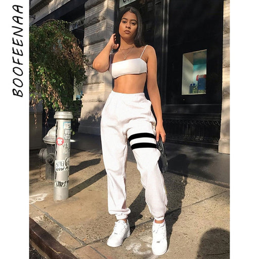 Joggers Streetwear Hip Hop High Waisted Harem Pants