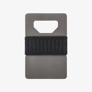 The Spine Titanium Wallet | Gray