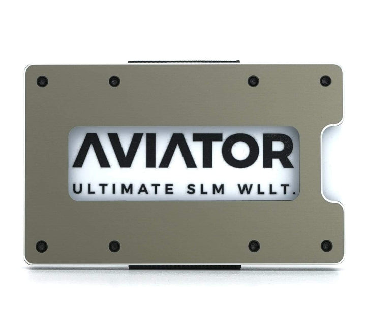 Aviator Wallet | Gunmetal