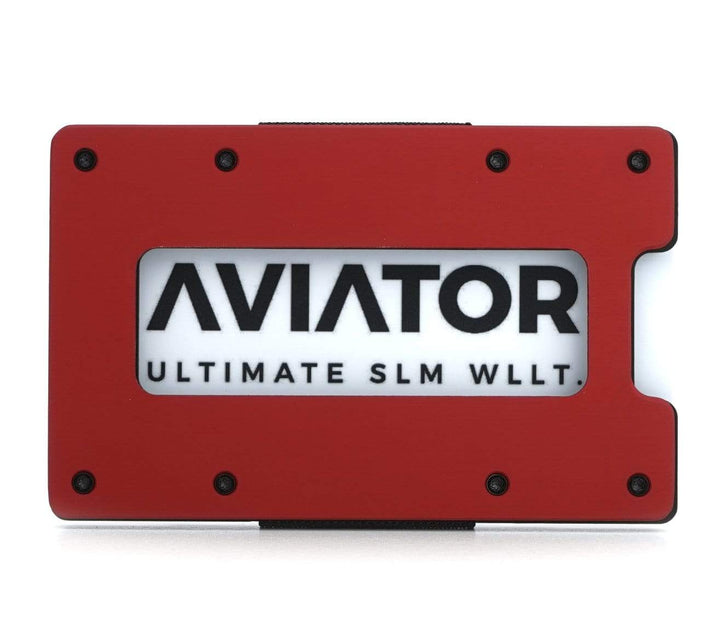 Aviator Wallet | Imola Red