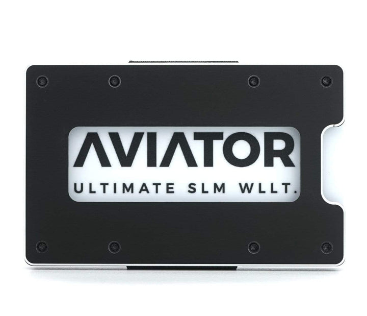 Aviator Wallet | Obsidian Black