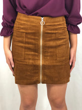 Load image into Gallery viewer, My Getaway Plan in Camel | Corduroy Skirt
