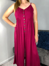 Load image into Gallery viewer, Sailer's Delight |  Magenta Jumpsuit