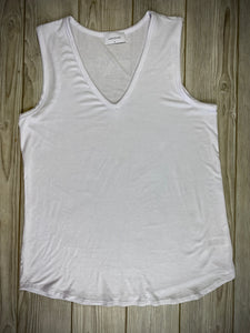 Not Your Basic Tank in White
