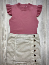 Load image into Gallery viewer, Cap Knit Top in Mauve