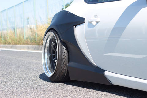 Rally Backer Version 1 Rear Fenders - Toyota 86/Subaru BRZ