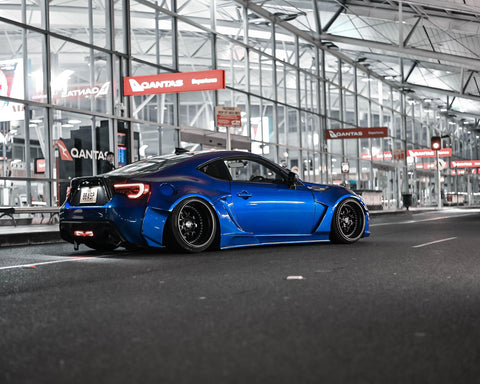 Rally Backer Version 2 Side Skirts & Canards - Toyota 86/Subaru BRZ