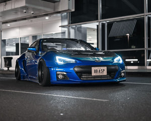 Rally Backer Version 2 (16 Piece Wide Body Kit) - Toyota 86/Subaru BRZ